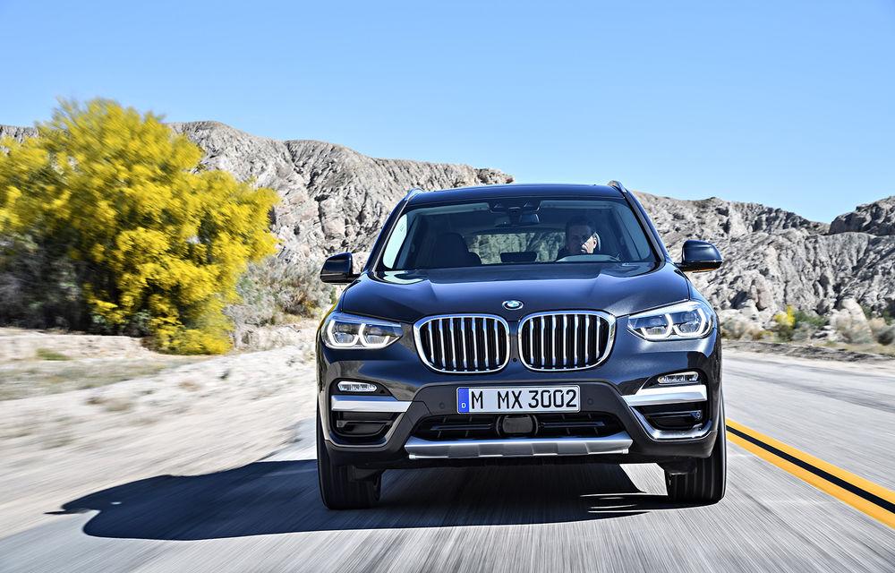 Informații despre noile versiuni X3 xDrive20d și X4 xDrive20d: motor diesel de 2.0 litri și sistem mild-hybrid la 48V - Poza 1