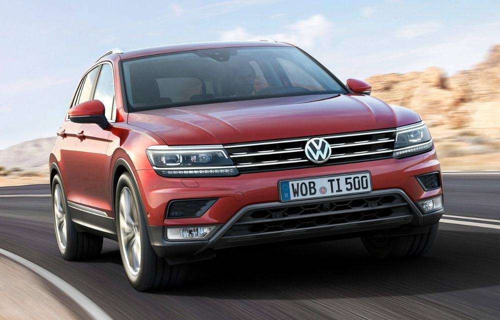Volkswagen testează viitorul Tiguan R: SUV-ul de performanță va miza pe un motor de 2.0 litri cu 300 CP - Poza 1