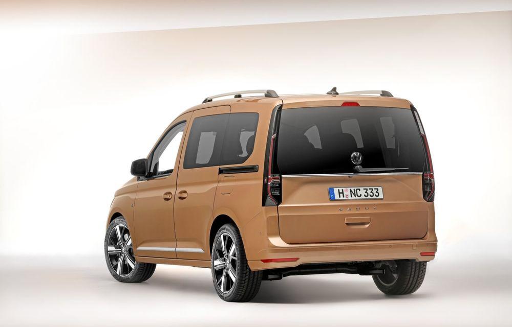 Volkswagen a prezentat noul Caddy: platformă nouă, interior modern și motoare cu puteri de până la 122 CP - Poza 2