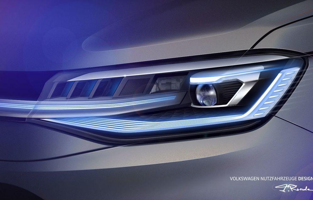 Volkswagen a prezentat noul Caddy: platformă nouă, interior modern și motoare cu puteri de până la 122 CP - Poza 4