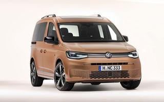 Volkswagen a prezentat noul Caddy: platformă nouă, interior modern și motoare cu puteri de până la 122 CP