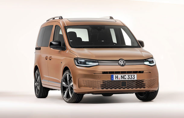 Volkswagen a prezentat noul Caddy: platformă nouă, interior modern și motoare cu puteri de până la 122 CP - Poza 1