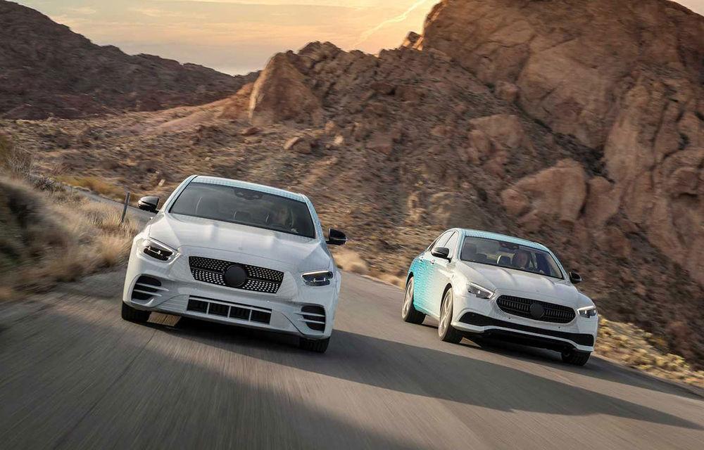 Mercedes-Benz Clasa E facelift va fi expus la Geneva: modelul de clasă mare va fi disponibil cu motorizări mild-hybrid și plug-in hybrid - Poza 1