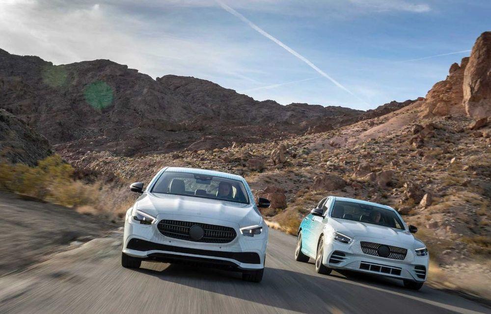 Mercedes-Benz Clasa E facelift va fi expus la Geneva: modelul de clasă mare va fi disponibil cu motorizări mild-hybrid și plug-in hybrid - Poza 11