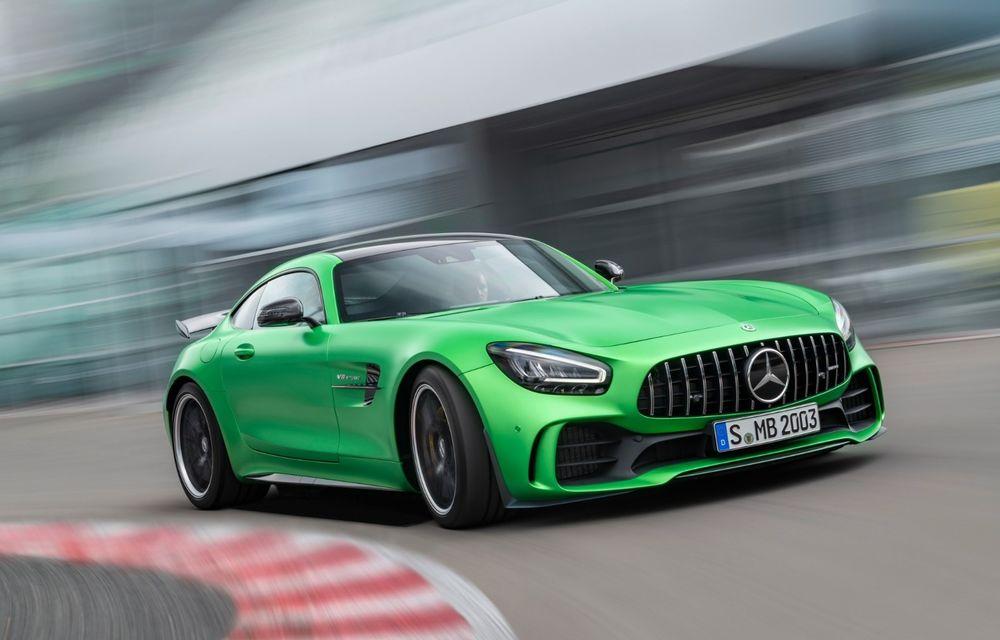 "Video. Viitorul Mercedes-AMG GT Black Series, spionat la Nurburgring: nemții promit un model ""extrovertit"" - Poza 1"