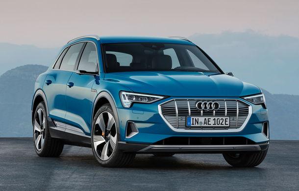 """Audi va opri producția lui e-tron pentru """"câteva zile"""": nemții confirmă lipsa unor componente - Poza 1"""