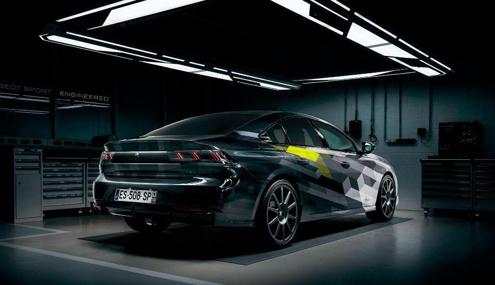 Primele imagini cu versiunea de pre-serie pentru Peugeot 508 Sport Engineered: sportiva va avea sistem plug-in hybrid de 360 CP - Poza 2