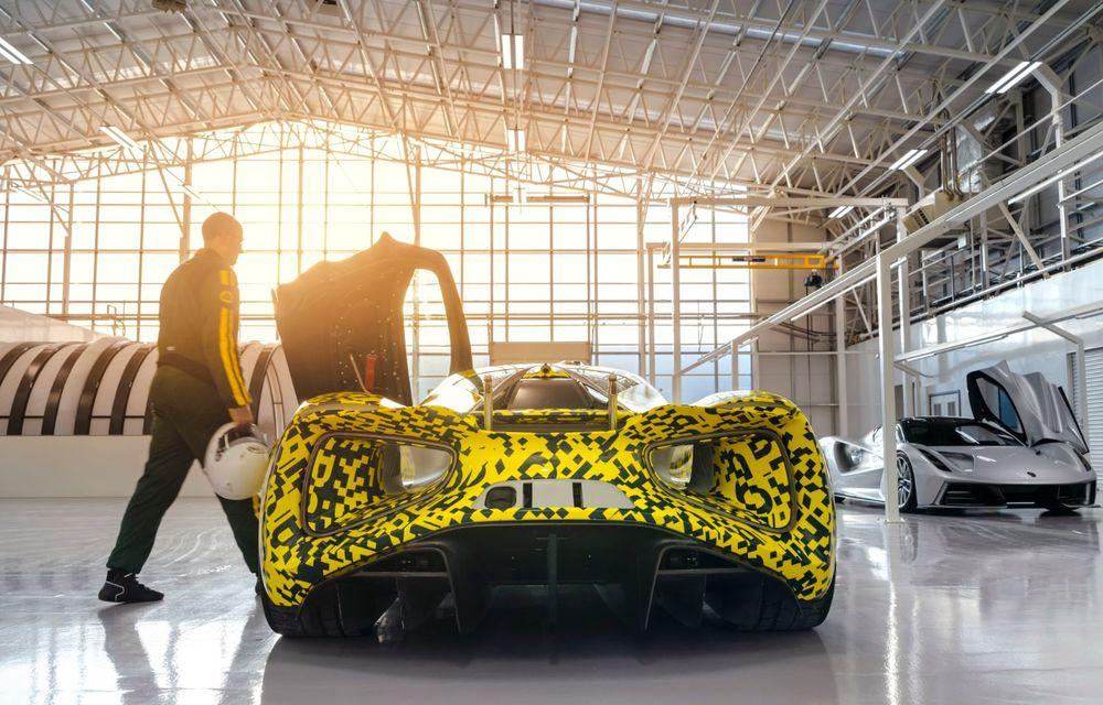 Lotus anunță că producția hypercar-ului Evija va începe în vara lui 2020: cele 130 de exemplare au fost deja vândute - Poza 6