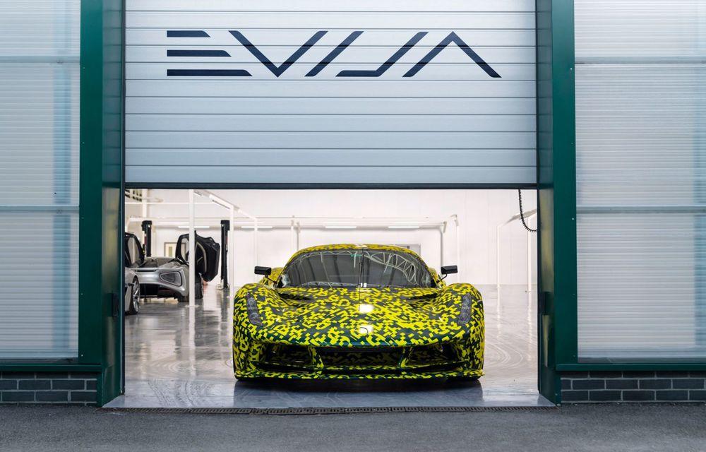 Lotus anunță că producția hypercar-ului Evija va începe în vara lui 2020: cele 130 de exemplare au fost deja vândute - Poza 4