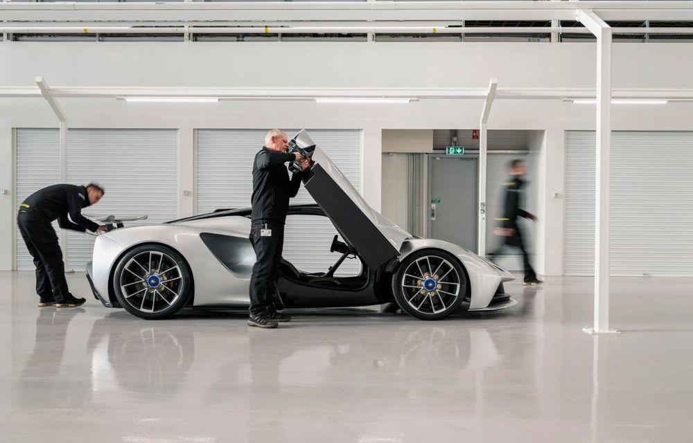 Lotus anunță că producția hypercar-ului Evija va începe în vara lui 2020: cele 130 de exemplare au fost deja vândute - Poza 3
