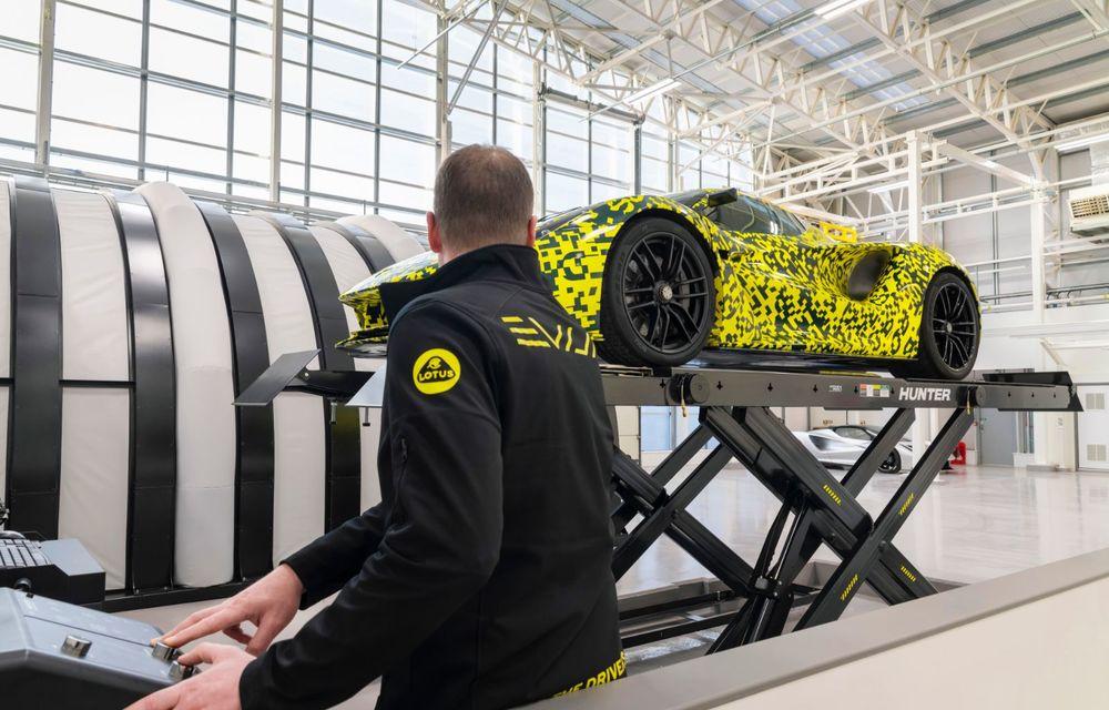 Lotus anunță că producția hypercar-ului Evija va începe în vara lui 2020: cele 130 de exemplare au fost deja vândute - Poza 7