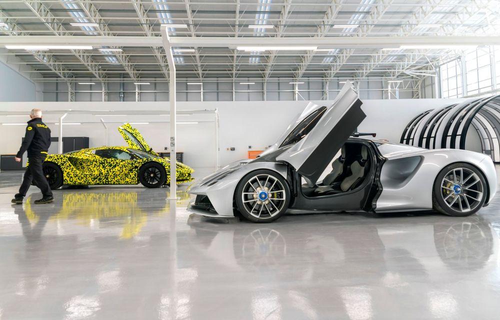 Lotus anunță că producția hypercar-ului Evija va începe în vara lui 2020: cele 130 de exemplare au fost deja vândute - Poza 1