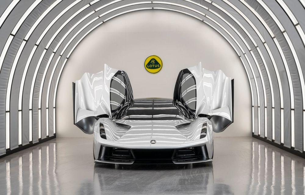 Lotus anunță că producția hypercar-ului Evija va începe în vara lui 2020: cele 130 de exemplare au fost deja vândute - Poza 8