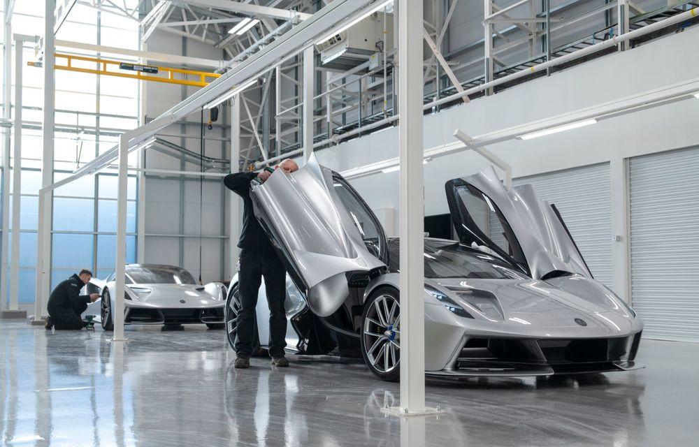 Lotus anunță că producția hypercar-ului Evija va începe în vara lui 2020: cele 130 de exemplare au fost deja vândute - Poza 9