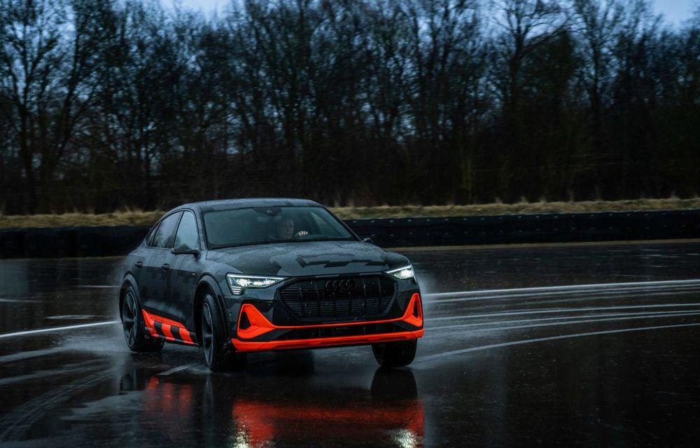 Audi e-tron S și e-tron S Sportback: versiunile de performanță au trei motoare electrice și până la 503 CP - Poza 41