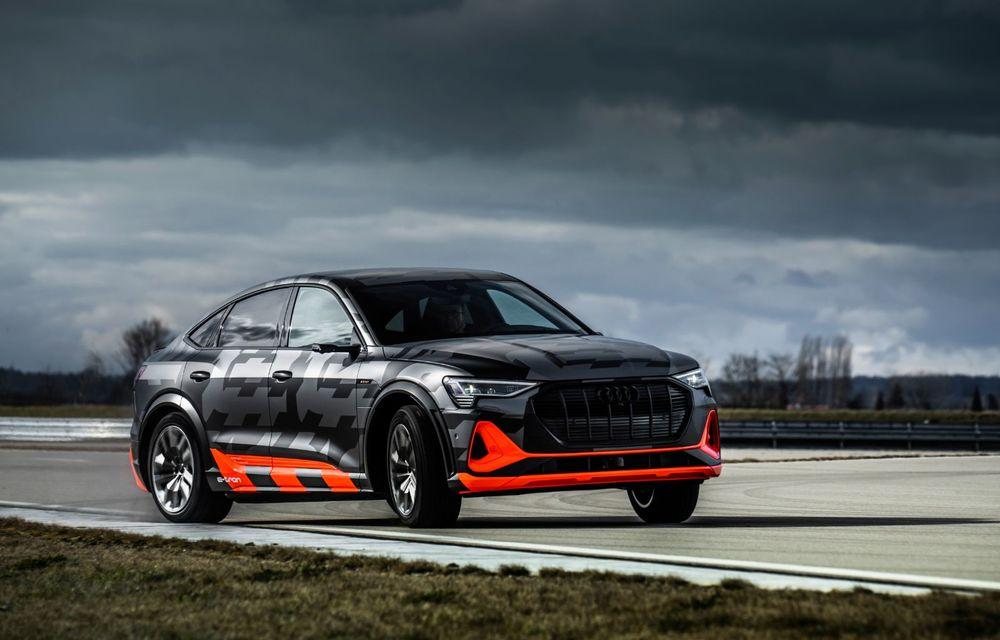 Audi e-tron S și e-tron S Sportback: versiunile de performanță au trei motoare electrice și până la 503 CP - Poza 38