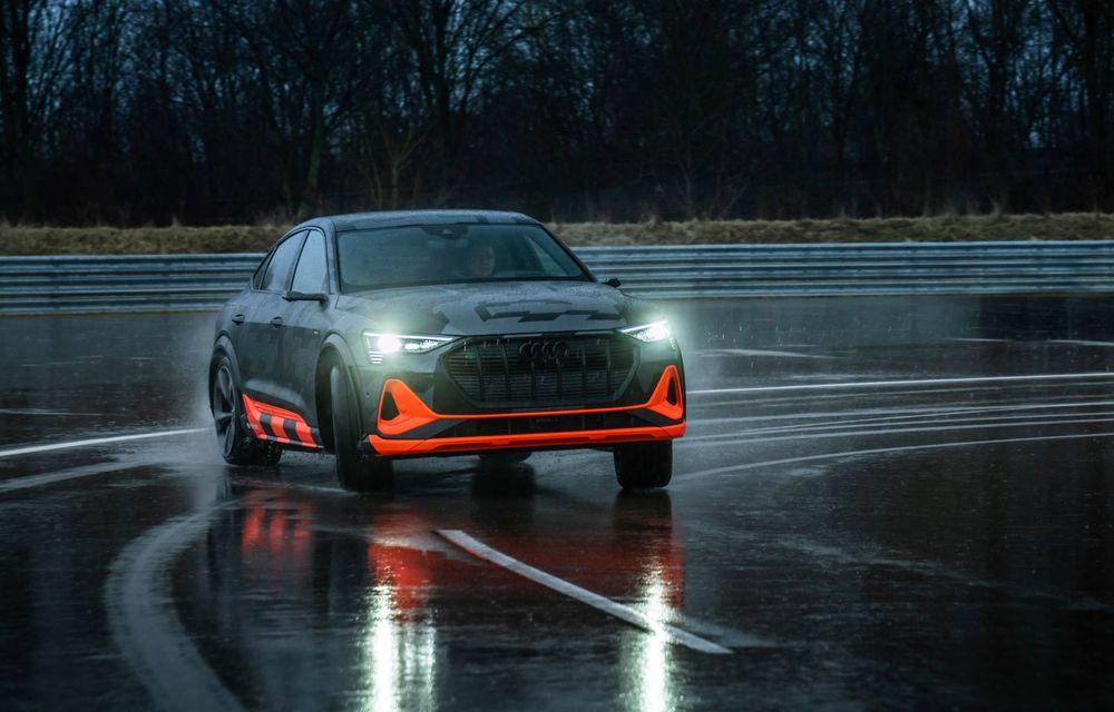 Audi e-tron S și e-tron S Sportback: versiunile de performanță au trei motoare electrice și până la 503 CP - Poza 42