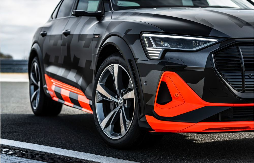 Audi e-tron S și e-tron S Sportback: versiunile de performanță au trei motoare electrice și până la 503 CP - Poza 52