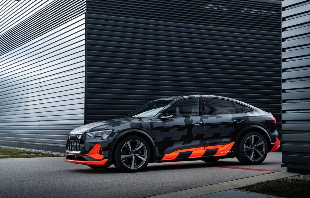 Audi e-tron S și e-tron S Sportback: versiunile de performanță au trei motoare electrice și până la 503 CP - Poza 47