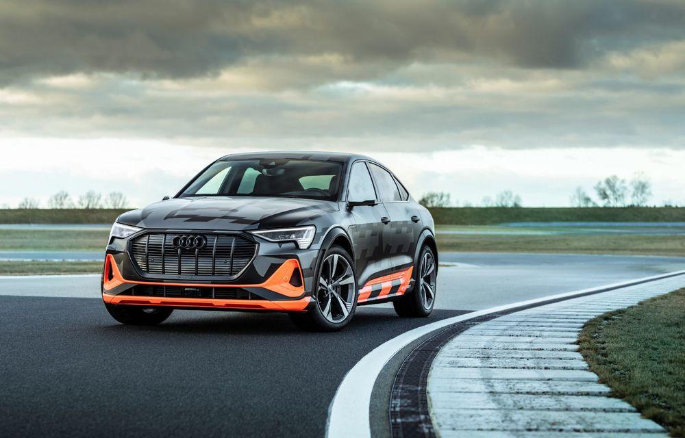 Audi e-tron S și e-tron S Sportback: versiunile de performanță au trei motoare electrice și până la 503 CP - Poza 2