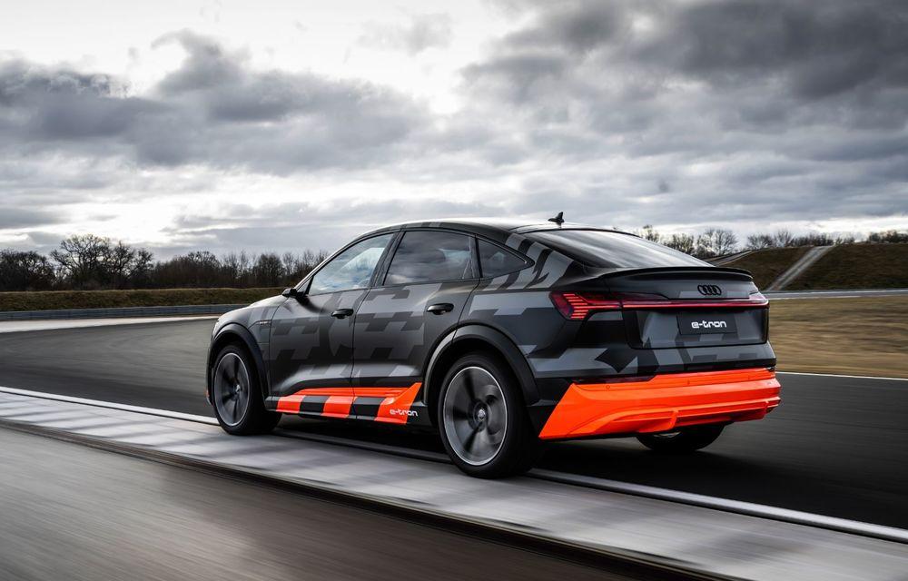 Audi e-tron S și e-tron S Sportback: versiunile de performanță au trei motoare electrice și până la 503 CP - Poza 30