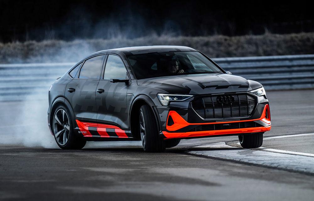 Audi e-tron S și e-tron S Sportback: versiunile de performanță au trei motoare electrice și până la 503 CP - Poza 1
