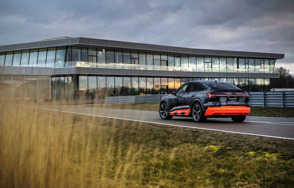 Audi e-tron S și e-tron S Sportback: versiunile de performanță au trei motoare electrice și până la 503 CP - Poza 5