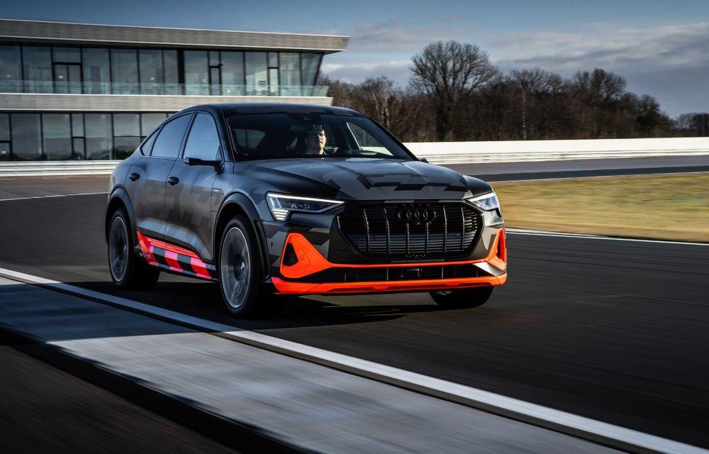 Audi e-tron S și e-tron S Sportback: versiunile de performanță au trei motoare electrice și până la 503 CP - Poza 15