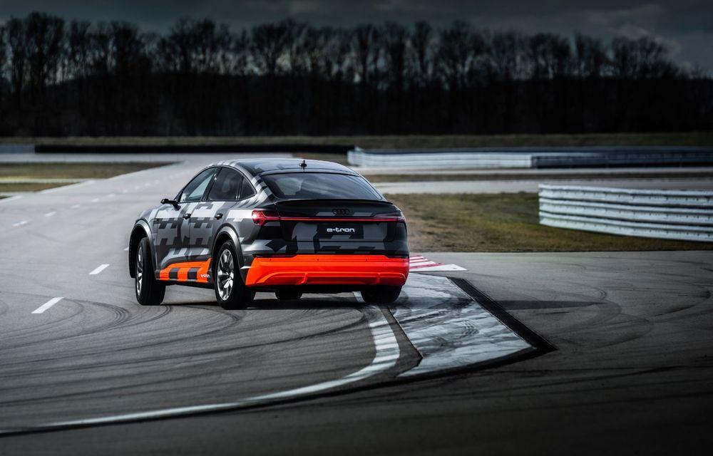 Audi e-tron S și e-tron S Sportback: versiunile de performanță au trei motoare electrice și până la 503 CP - Poza 39