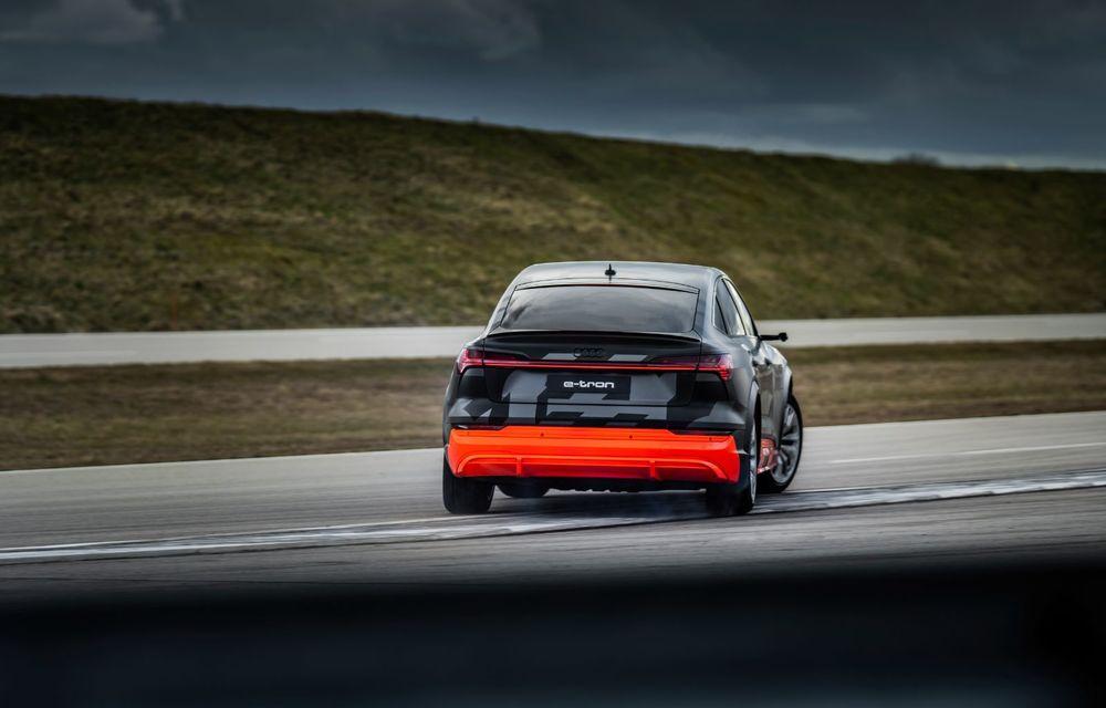 Audi e-tron S și e-tron S Sportback: versiunile de performanță au trei motoare electrice și până la 503 CP - Poza 40