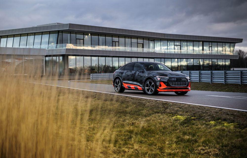 Audi e-tron S și e-tron S Sportback: versiunile de performanță au trei motoare electrice și până la 503 CP - Poza 6