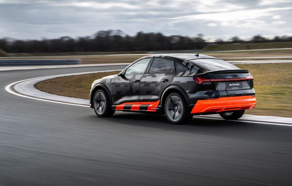 Audi e-tron S și e-tron S Sportback: versiunile de performanță au trei motoare electrice și până la 503 CP - Poza 27