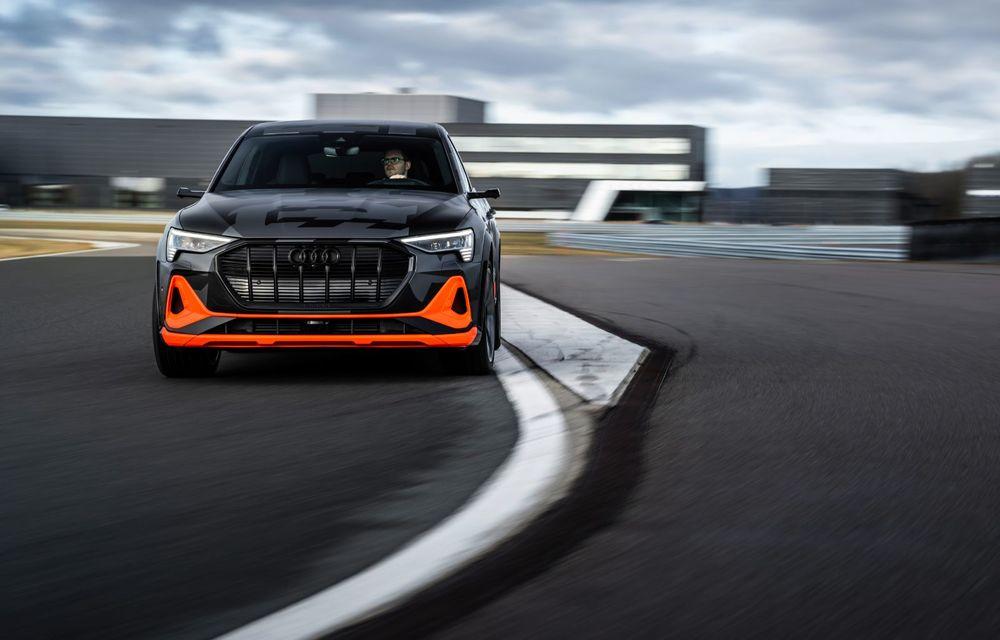 Audi e-tron S și e-tron S Sportback: versiunile de performanță au trei motoare electrice și până la 503 CP - Poza 22