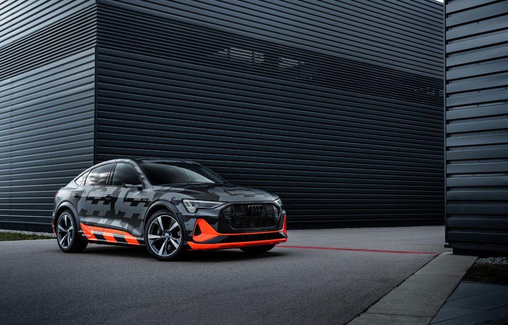 Audi e-tron S și e-tron S Sportback: versiunile de performanță au trei motoare electrice și până la 503 CP - Poza 46