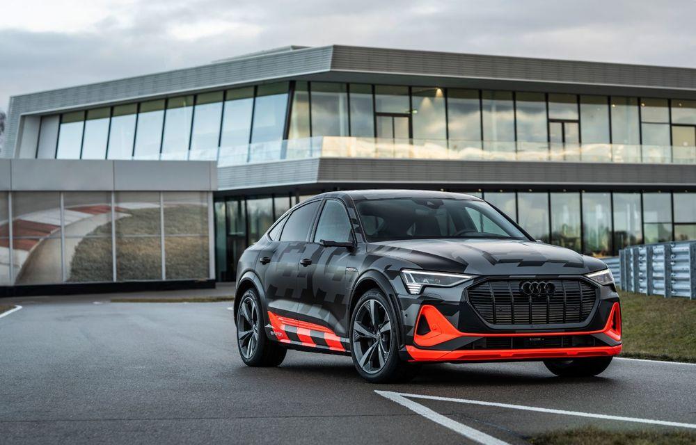 Audi e-tron S și e-tron S Sportback: versiunile de performanță au trei motoare electrice și până la 503 CP - Poza 8