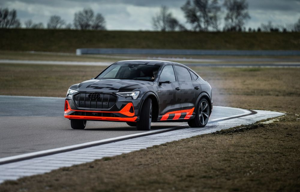 Audi e-tron S și e-tron S Sportback: versiunile de performanță au trei motoare electrice și până la 503 CP - Poza 35