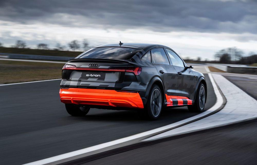 Audi e-tron S și e-tron S Sportback: versiunile de performanță au trei motoare electrice și până la 503 CP - Poza 32