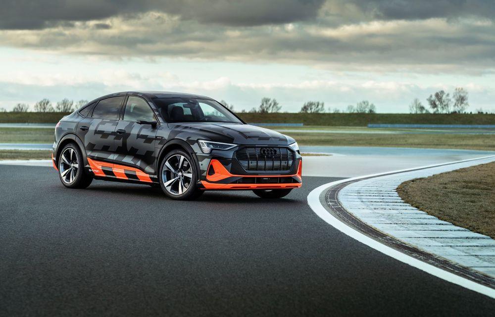 Audi e-tron S și e-tron S Sportback: versiunile de performanță au trei motoare electrice și până la 503 CP - Poza 3