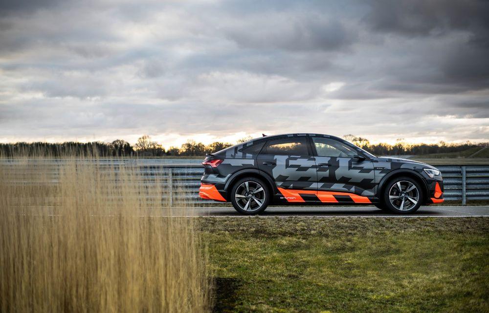 Audi e-tron S și e-tron S Sportback: versiunile de performanță au trei motoare electrice și până la 503 CP - Poza 7