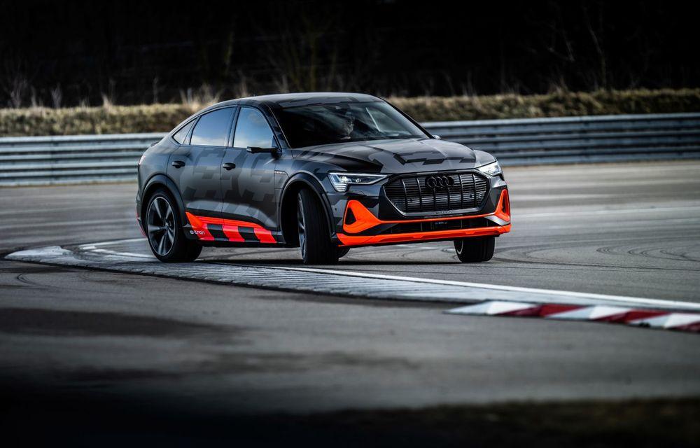 Audi e-tron S și e-tron S Sportback: versiunile de performanță au trei motoare electrice și până la 503 CP - Poza 37