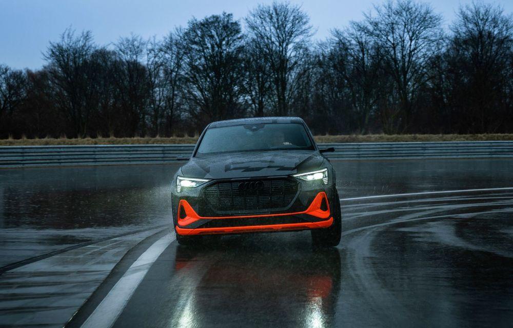 Audi e-tron S și e-tron S Sportback: versiunile de performanță au trei motoare electrice și până la 503 CP - Poza 43