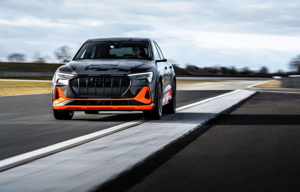Audi e-tron S și e-tron S Sportback: versiunile de performanță au trei motoare electrice și până la 503 CP - Poza 21