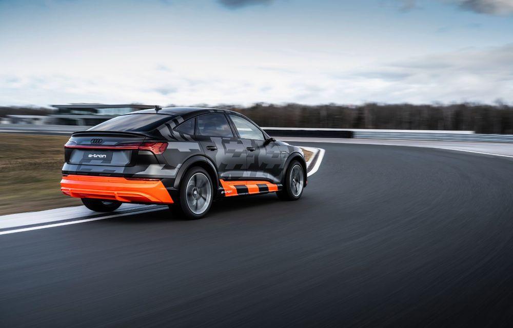 Audi e-tron S și e-tron S Sportback: versiunile de performanță au trei motoare electrice și până la 503 CP - Poza 31