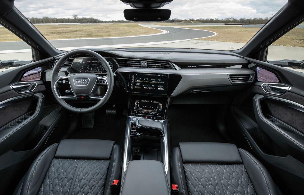 Audi e-tron S și e-tron S Sportback: versiunile de performanță au trei motoare electrice și până la 503 CP - Poza 53