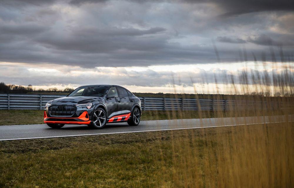 Audi e-tron S și e-tron S Sportback: versiunile de performanță au trei motoare electrice și până la 503 CP - Poza 4