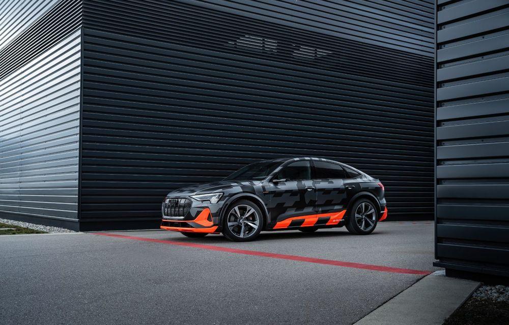 Audi e-tron S și e-tron S Sportback: versiunile de performanță au trei motoare electrice și până la 503 CP - Poza 48