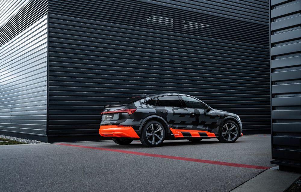 Audi e-tron S și e-tron S Sportback: versiunile de performanță au trei motoare electrice și până la 503 CP - Poza 50