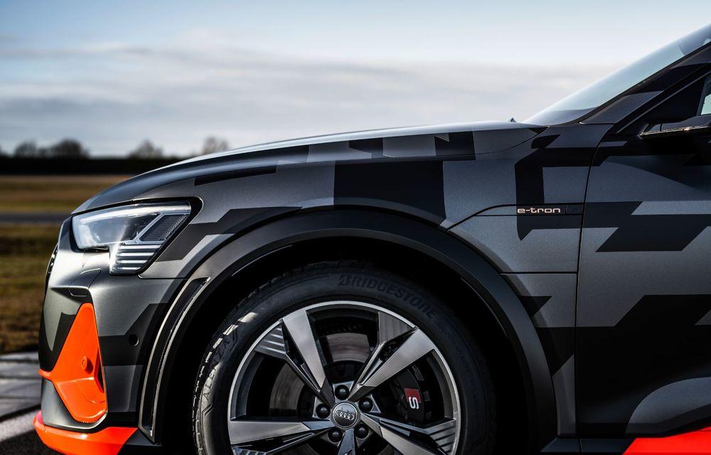 Audi e-tron S și e-tron S Sportback: versiunile de performanță au trei motoare electrice și până la 503 CP - Poza 10