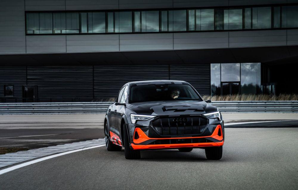 Audi e-tron S și e-tron S Sportback: versiunile de performanță au trei motoare electrice și până la 503 CP - Poza 34
