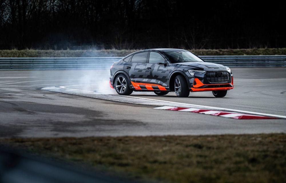 Audi e-tron S și e-tron S Sportback: versiunile de performanță au trei motoare electrice și până la 503 CP - Poza 36